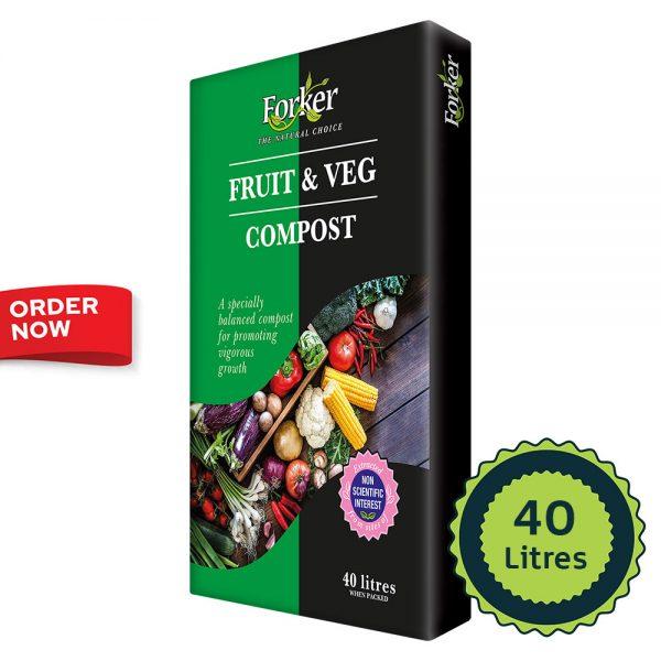 Fruit & Vegetable Compost (40 Litres)