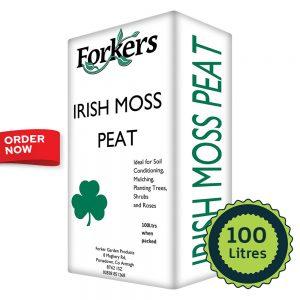 Irish Moss Peat (100 Litres)