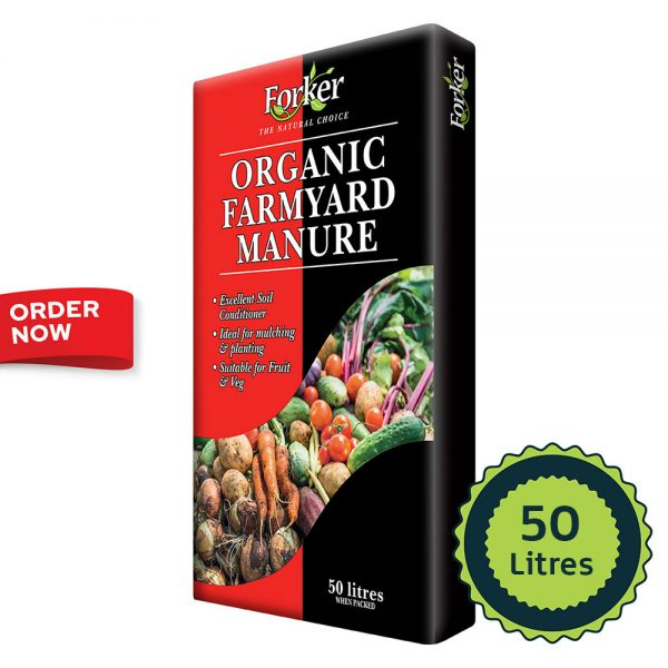 Organic Farmyard Manure (50 Litres)