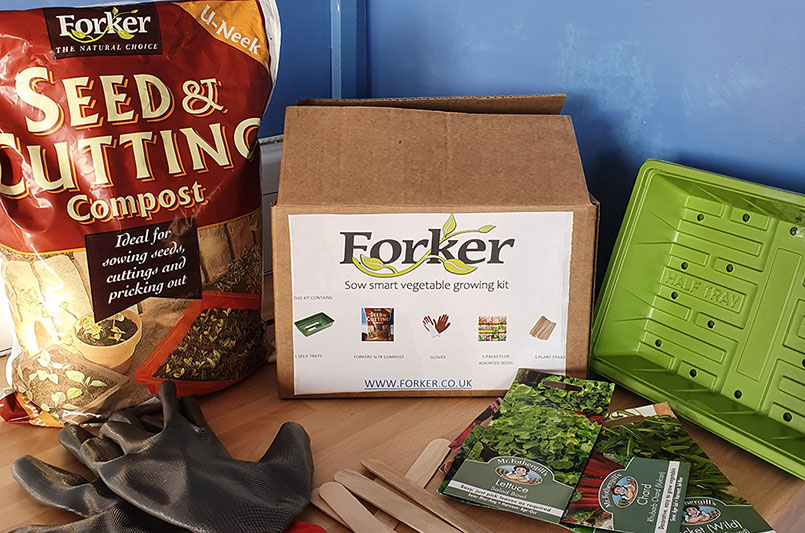 Forker Sow Smart Vegetable Growing Kit